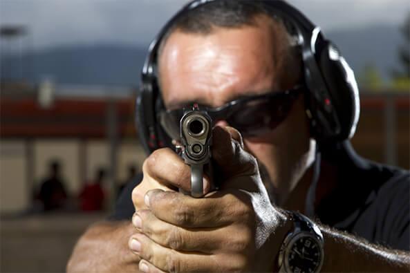 gun range bullet containment